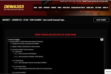Situs SBOBET